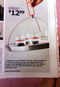 Now sold at Ikea. Turkish tea carriers are getting to be mainstream!